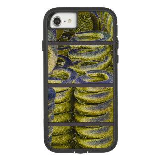 Neon Train Spring Design Case-Mate Tough Extreme iPhone 8/7 Case