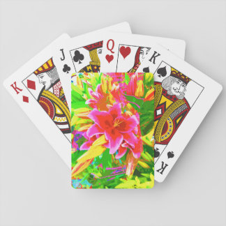 Neon Trees Playing Cards