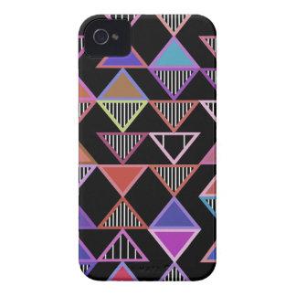 Neon Triangles Pattern Blackberry Bold Case
