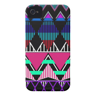 Neon Tribal 2 inspired iPhone 4/4S Case-Mate Case