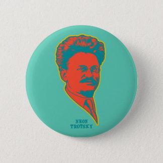 Neon Trotsky 6 Cm Round Badge