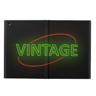 Neon vintage. cover for iPad air