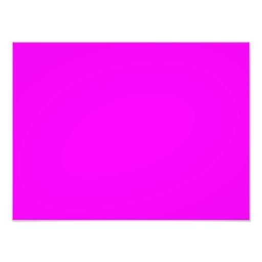 Neon Violet Purple Color Trend Blank Template Art Photo