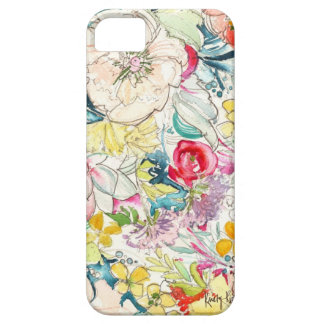 Neon Watercolor Flower iPhone Case Case For The iPhone 5