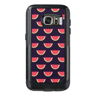 Neon Watermelon on Purple Pattern OtterBox Samsung Galaxy S7 Case