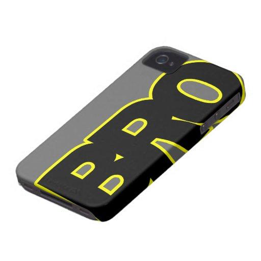 Neon Yellow BRO Blackberry Bold Case