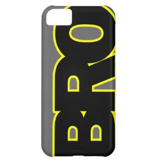 Neon Yellow BRO iPhone 5C Cover