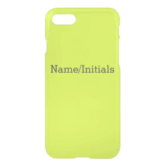 Neon Yellow, High Visibility Chartreuse iPhone 8/7 Case