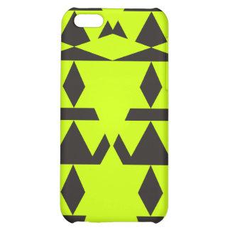 Neon Yellow Minimal Tribal iPhone 5C Covers