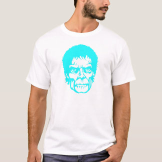 Neon zombie head T-Shirt