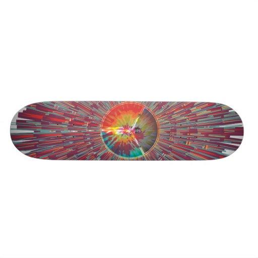 neoPeace Digital Doodle Skate Deck