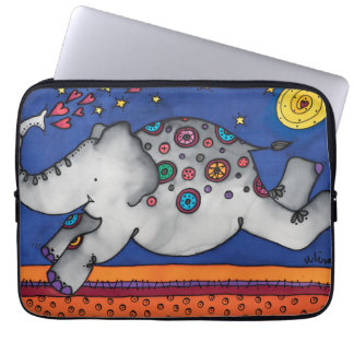 "Neoprene 13""  Laptop Sleeve: Elephant Series Laptop Sleeve"