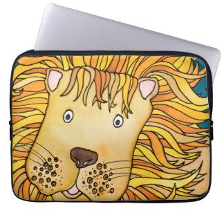 "Neoprene 13""  Laptop Sleeve: Lion Series Laptop Sleeve"