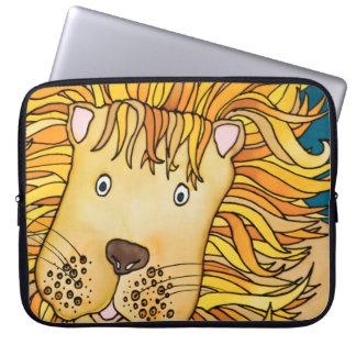 "Neoprene 15"" Laptop Sleeve: Lion Series Laptop Sleeve"