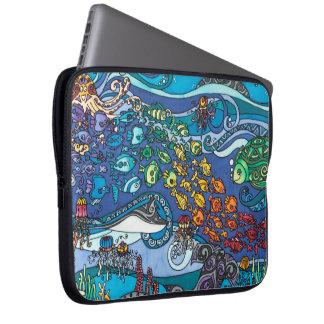 "Neoprene 15"" Laptop Sleeve: Under the Sea Series Laptop Sleeve"