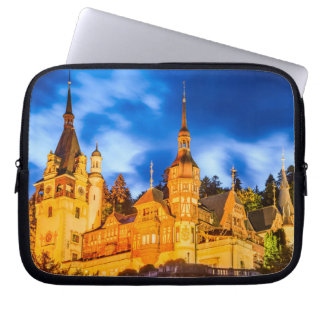 Neoprene Laptop Sleeve 10 inch Peles castle Sinaia