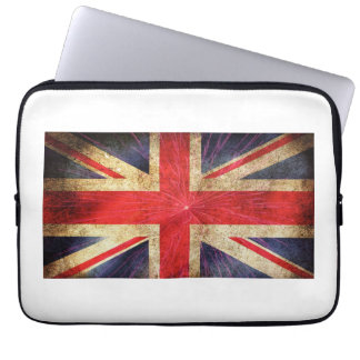 Neoprene Laptop Sleeve 13 inch English Flag