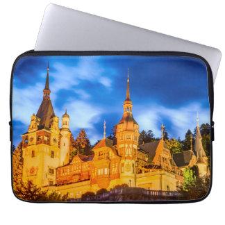 Neoprene Laptop Sleeve 13 inch Peles castle Sinaia