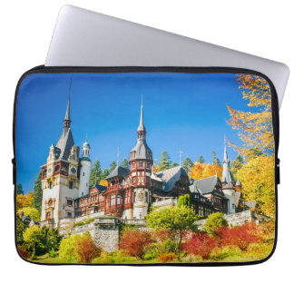 Neoprene Laptop Sleeve 13 inch Peles castle Sinaia