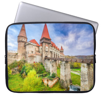 Neoprene Laptop Sleeve 15 inch Corvin castle