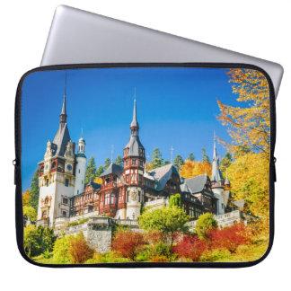 Neoprene Laptop Sleeve 15 inch Peles castle Sinaia
