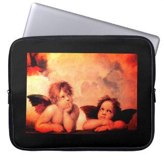 Neoprene Laptop Sleeve 15 inch Raffaello Angels