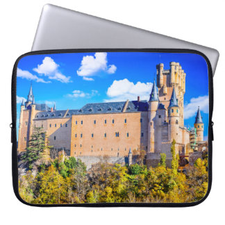 Neoprene Laptop Sleeve 15 inch Segovia castle