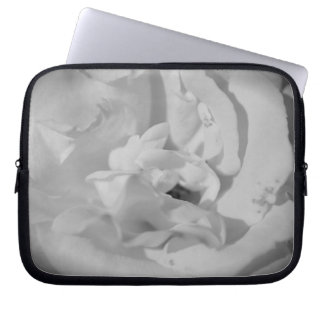 Neoprene small pocket computer White Pink port Laptop Sleeve