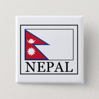 Nepal 15 Cm Square Badge