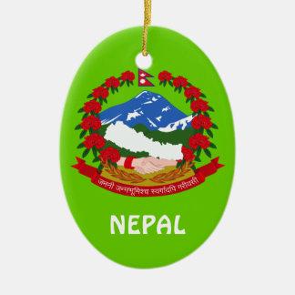 NEPAL* Custom Christmas Ornament
