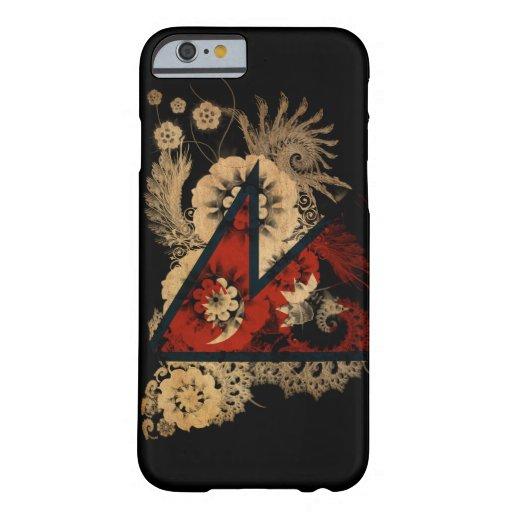 Nepal Flag iPhone 6 Case