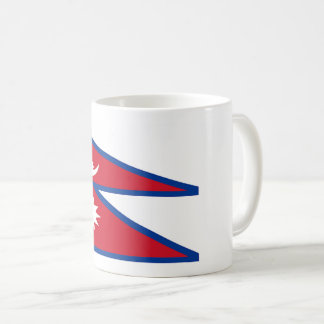 Nepal Flag Coffee Mug