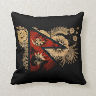 Nepal Flag Cushion