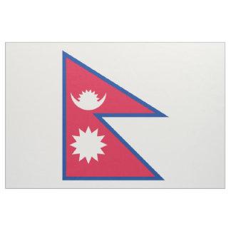 Nepal Flag Fabric