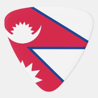 Nepal Flag Plectrum