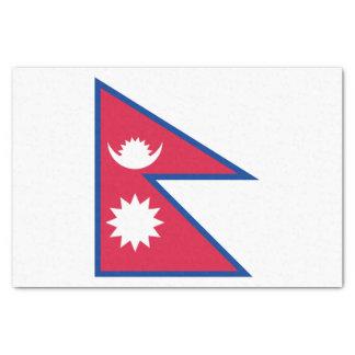 Nepal Flag Tissue Paper