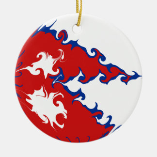 Nepal Gnarly Flag Ornament