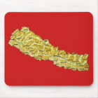 Nepal Map Mousepad