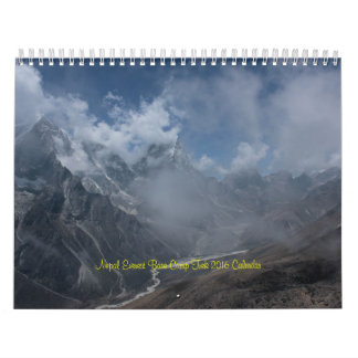 Nepal Mount Everest Base Camp Trek 2016 Calendar