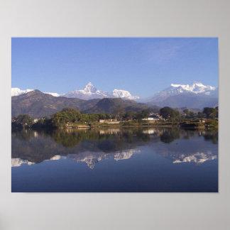 Nepal Mountain Poster