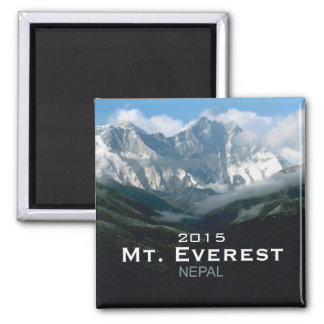 Nepal Mt. Everest Travel Photo Souvenir Magnets