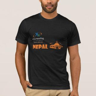 Nepal T-shirt Dark - Volunteering Solutions