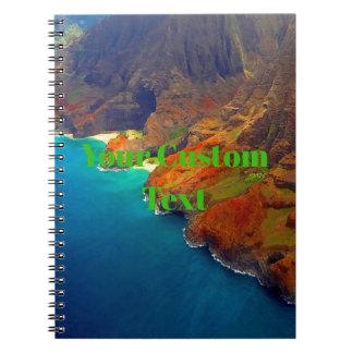 Nepali Coast Kauai Hawaii Notebook