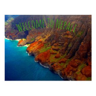 Nepali Coast Kauai Hawaii Postcard