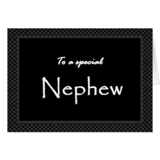 NEPHEW Ring BearerThank You  Template Card