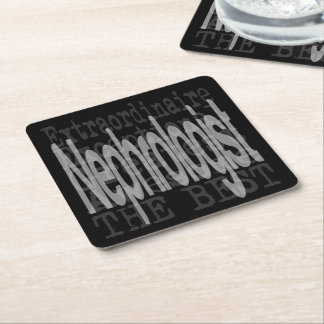 Nephrologist Extraordinaire Square Paper Coaster
