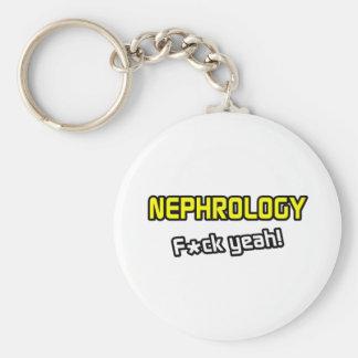 Nephrology ... F-ck Yeah! Basic Round Button Key Ring
