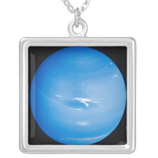 Neptune 2 silver plated necklace