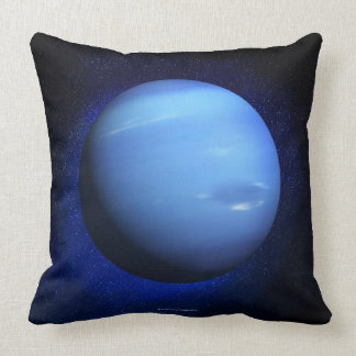 Neptune 3 throw pillow