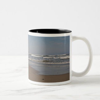 Neptune Beach Oregon Two-Tone Coffee Mug